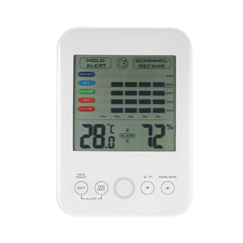 Madmoon Digital-Hygrometer/Thermometer