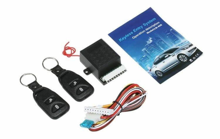 Lechnical 12V Universal Auto Zentralverriegelung Fernbedienung
