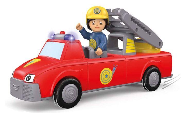 Toddys Feuerwehrauto mit Licht und Sound by siku