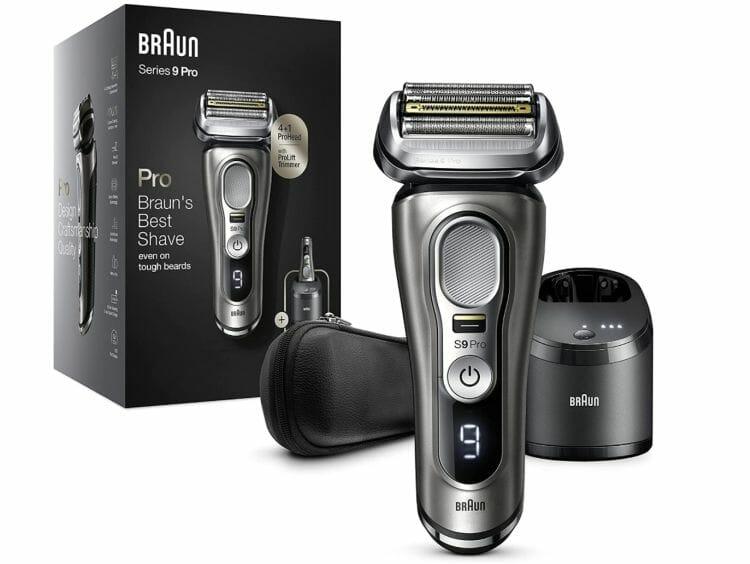 Braun Series 9 Pro Premium Rasierer 9465cc mit Reinigungsstation