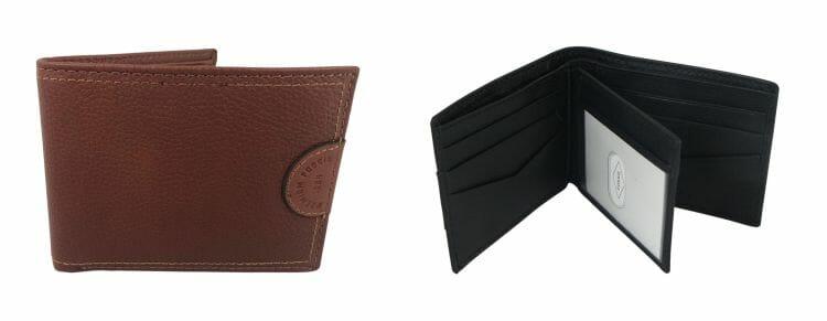 Fossil Herren Leder-Portemonnaie