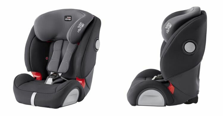 BRITAX RÖMER Kindersitz 9-36 kg EVOLVA 1-2-3 SL SICT