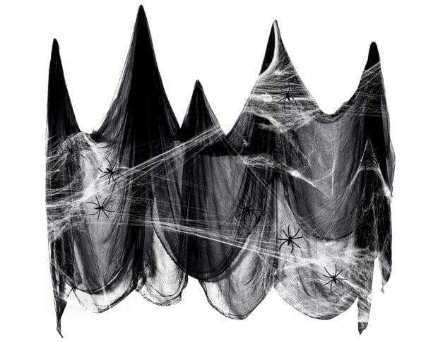 Halloween Gadget: Tepilos DekoSpinnennetz 200 X 500cm